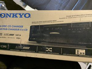 Onkyo disc changer for Sale in Austin, TX