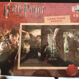 Set Of 2 Harry Potter Puzzles for Sale in Freetown, MA