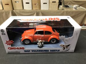 Gremlins 1967 Volkswagen Beetle Greenlight Collectibles 1:24 Scale for Sale in La Habra, CA