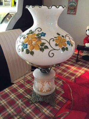 "Vintage Electric Hurricane Lamp 18"" tall for Sale in Lake Mary, FL"