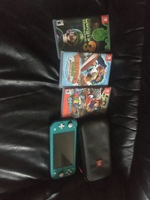 Nintendo Switch lite with games for Sale in Los Angeles, CA