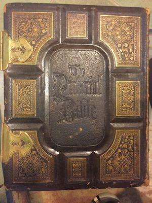 Victorian Pirtorial Bible 1800s for Sale in Germantown, MD