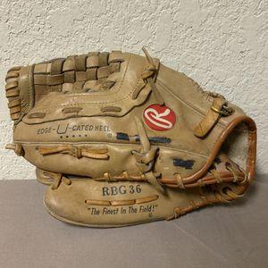 Rollings RBG 36 Series Left Hander Baseball Glove for Sale in Buena Park, CA