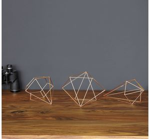 Geometric Rose Gold Decor for Sale in Redondo Beach, CA