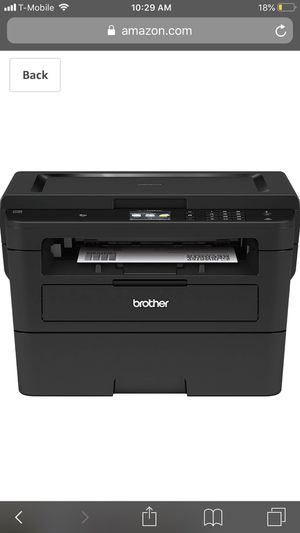 Brother Compact Monochrome Laser Printer, HLL2395DW, Flatbed Copy & Scan, Wireless Printing, NFC, Cloud-Based Printing & Scanning for Sale in San Jose, CA