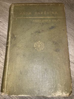 Anna Karenina by Tolstoi 1st Edition w/ Ads for Sale in Roanoke, VA