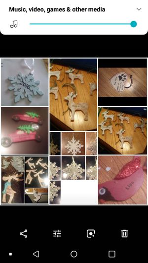 Ornaments hand-made, personalized for Sale in Middleville, MI