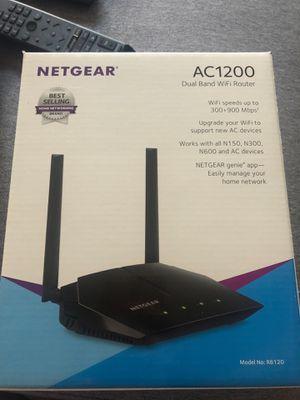 Netgear AC1200 WiFi Router, R6120 for Sale in Washington, DC
