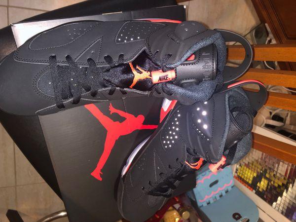 Jordan retro 6's infrared size 9 DEADSTOCK