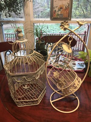 Decorative birdcages for Sale in Durham, NC