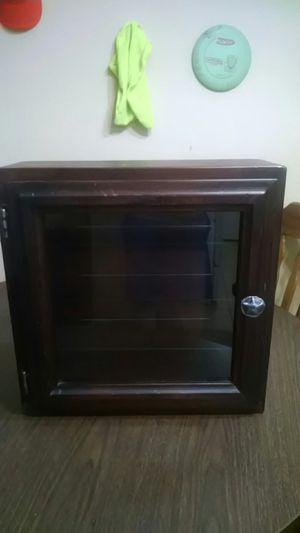 Bown wood 3 shelf cabinet for Sale in Norcross, GA