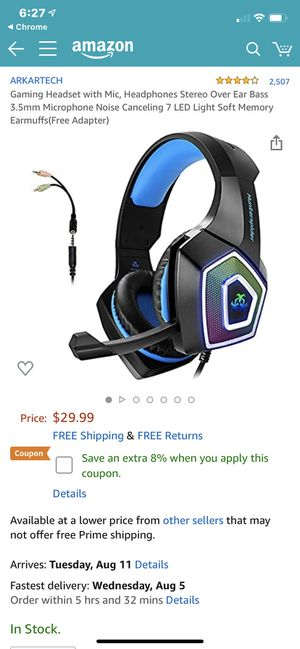 HunterSpider Headset for Sale in National City, CA