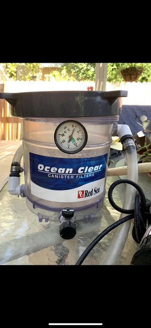 Aquarium & Pond filter - up to 300 gallons - POWERFUL for Sale in Santa Ana, CA