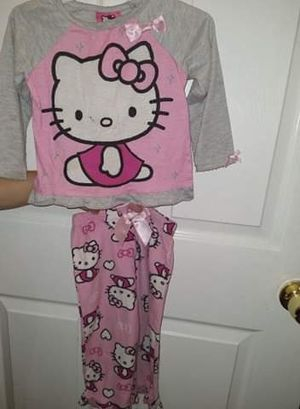 Hello Kitty pajamas size 2 for Sale in Los Angeles, CA
