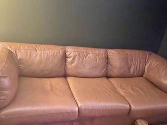 Leather Sofa for Sale in Miami,  FL