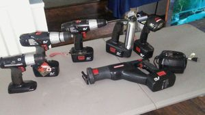Craftsman battery power tools charger included for Sale in Smyrna, TN