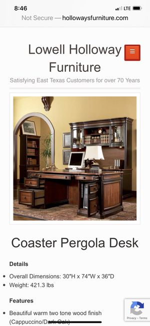 Slightly used executive desk for Sale in Conyers, GA