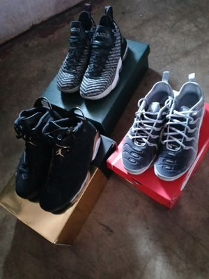 Retro Jordan's 6,LBJ,Nike Vapor Max for Sale in CORP CHRISTI, TX