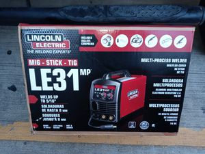 LE31MP Mig, tig, & stick welder for Sale in Crosby, TX