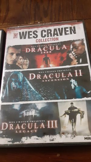 The tourist & the wes craven collection for Sale in Grand Saline, TX