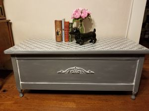 Antique chest, coffee table , tv stand refurbished for Sale in Crystal City, MO