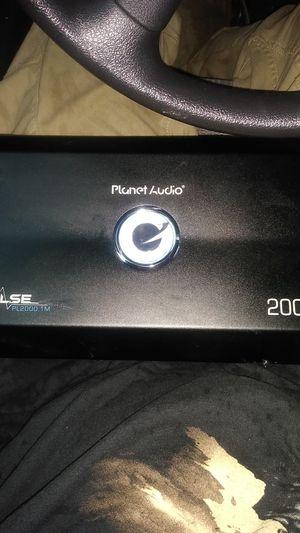 Planet audio pulse 2000 watt amp for Sale in Houston, TX