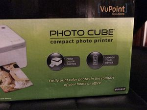 VuPoint Photo Cube with glossy photo paper for Sale in Spottsville, KY