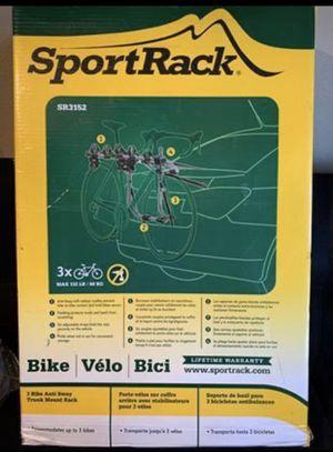 SportRack Pursuit 3-Bike Trunk Mount for Sale in Dallas, TX