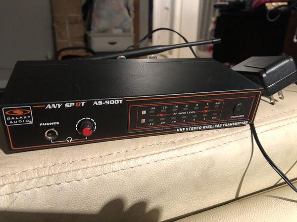 Galaxy audio in-ear as-900t transmitter