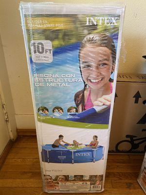 Intex 10 ft x 30 in Metal Frame Pool *NO PUMP* for Sale in Lakewood, CA