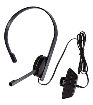 Microsoft - Xbox One Chat Headset - Black for Sale in Tempe, AZ