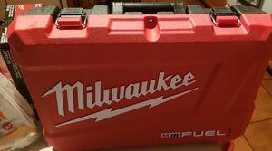 Milwaukee m18 fuel case new for 2997-22 for Sale in Deltona, FL