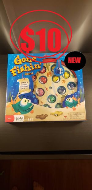 Gone Fishin' Fishing Board Game Toy Brand new - Sealed package for Sale in Ventura, CA