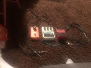 Three pedals (Big Muff, MXR Phase 90, RC-3 loop Station) for Sale in Oakland, CA