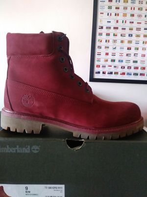 "Timberland 6 inch Boot ""Burgundy"" Size 9 Brand New for Sale in Brooklyn, NY"