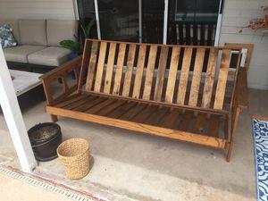 Wood Futon Frame for Sale in Scottsdale, AZ
