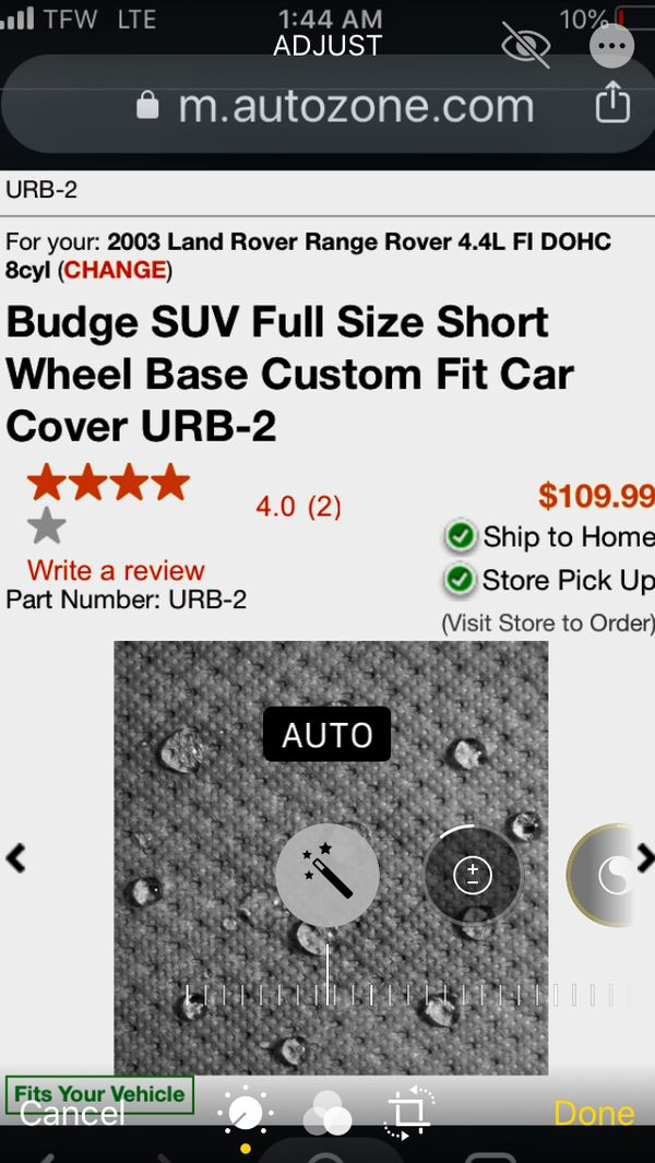 Budge Heavy Duty SUV Cover