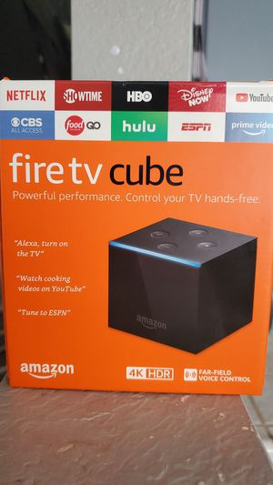 Amazon Fire TV Cube for Sale in Ontario, CA