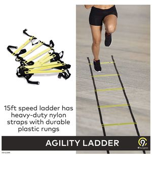 C9 Agility Ladder (15 ft) Speed & Footwork Training - Heavy Duty for Sale in Pasadena, CA