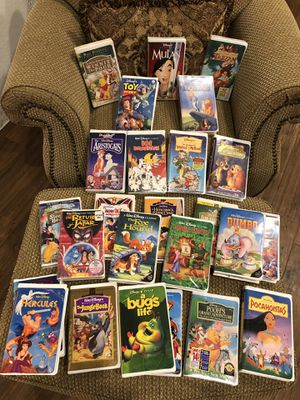 Vintage Disney VHS Movie Collection (38 Movies) for Sale in Spring Hill, FL