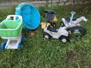 Kids toys sandbox tonka blocks trucks for Sale in Dallas, TX