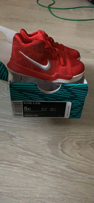 2 pairs of Kyrie toddler shoes 5c for Sale in Columbus, OH