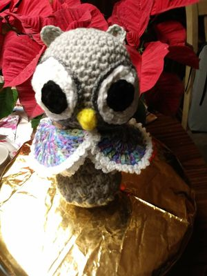 Cute crochet owl for Sale in Chicago, IL