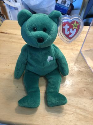 Ty Beanie Babies Erin 1997 for Sale in Plainfield, IL