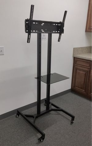 """New in box 28"""" depth x 26"""" wide x 65"""" tall 32 to 65 inch tv television heavy duty stand with locking wheels and shelf soporte de tv for Sale in Baldwin Park, CA"""
