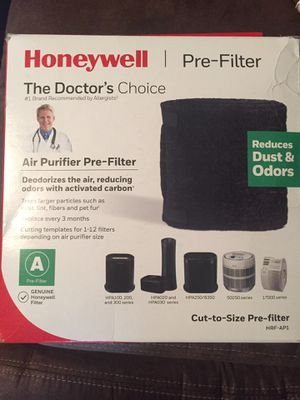 Honeywell (HRF-AP1) Universal Carbon Air Purifier Replacement Pre-Filter A for Sale in Lawrenceville, GA
