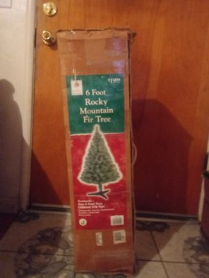 6 ft. Rocky Mountain Fir Tree for Sale in Merced, CA