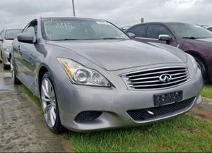 Infiniti g37 sport 2008 for parts only !!!! for Sale in Hialeah Gardens, FL
