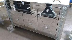Mirror dresser chest TV stand for Sale in Dallas, TX
