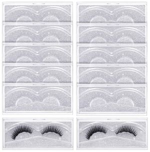 12 Pieces Empty Eyelash Storage Box with Clear Tray for Eyelash Care for Women G for Sale in Odessa, FL